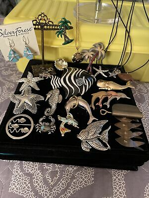 $ CDN22.41 • Buy LOT OF ASSORTED FISH STARFISH Crab BROOCH PINS Vintage To Now