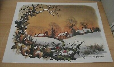 £1.99 • Buy Country Church Winter Printed Picture/decorative Art/collectable/pictures/prints