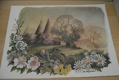 £1.99 • Buy  Spring Oasthouse Printed Picture/decorative Art/collectable/pictures/prints