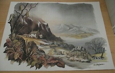 £1.99 • Buy  Winter Mountain Printed Picture/decorative Art/collectable/pictures/prints
