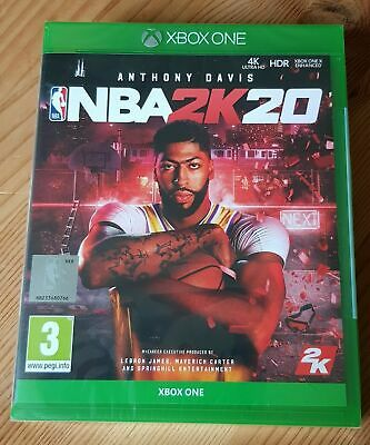 $ CDN25.84 • Buy NBA 2K20 (Xbox One, 2019) BRAND NEW SEALED BASKETBALL VIDEO GAME FOR XBOX ONE