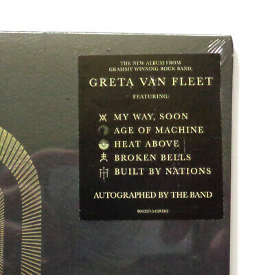 AU146.02 • Buy Brand New SIGNED Greta Van Fleet Compact Disk Autographed CD Factory Sealed New!