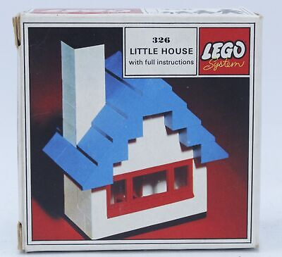 £4.99 • Buy Vintage Rare LEGO SYSTEM Little House Set Number 326 W/ Instructions BOXED - N19