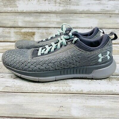 $ CDN35.19 • Buy Under Armour Womens Sneakers Size 7 Grey Green Running Walking Active Shoes
