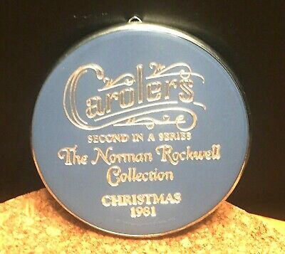$ CDN6.08 • Buy Norman Rockwell Collection Hallmark Ornaments The   Carolers 1981 Ex Condition