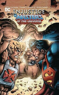 $18.98 • Buy INJUSTICE VS. THE MASTERS OF THE UNIVERSE TPB Collecting #1-6 DC Comics TP
