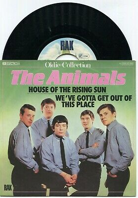 £8.49 • Buy Single Animals: House Of The Rising Sun (RAK Oldie Collection 1C 008-63 498) D