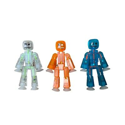 £5.99 • Buy StikBot Robot Stop Motion Figures (3)