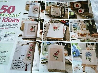 £1.50 • Buy Cross Stitch Chart Botanical Collection Motif Charts Only Flowers Fruit Etc