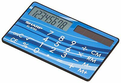 £25.80 • Buy Sharp Calculator EL-878S-X Card, Credit Card Type F/S W/Tracking# New From Japan