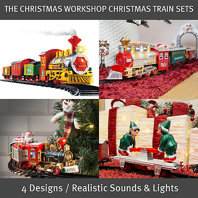 £27.99 • Buy Christmas Workshop Christmas Train Sets / 4 Separate Designs / Battery Operated