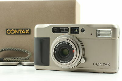 $ CDN473.11 • Buy [Near MINT In Box] Contax TVS Point & Shoot 35mm Compact Film Camera From JAPAN