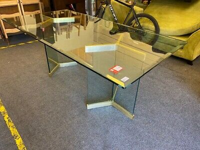 £29.99 • Buy Modern 2cm Glass Home Office Large Executive Desk  - CIS T18