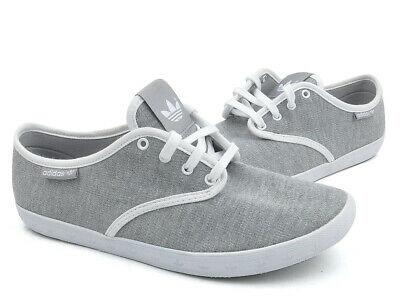 £35.99 • Buy Adidas Adria Ps Ladies Canvas Shoes Summer Shoes Honey Low Mottled Grey White
