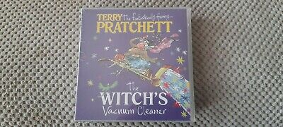 £2.49 • Buy Terry Pratchett - The Witch's Vacuum Cleaner Audiobook 4 X CD Sealed New