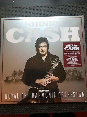 £17.99 • Buy JOHNNY CASH And The Royal Philharmonic Orchestra 2020 VINYL LP Free Post In Uk