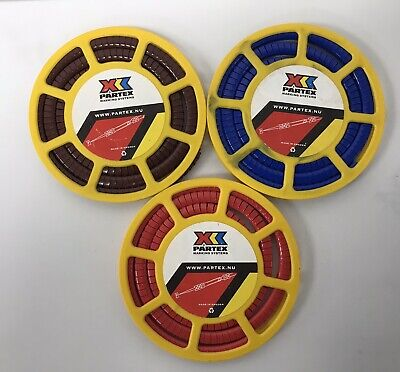 £8.58 • Buy Partex Cable Markers PA 2/4 . 3pc Reels .