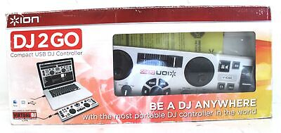 £4.99 • Buy ION Audio DJ2GO Compact USB DJ Controller For PC Or Mac BOXED - O07