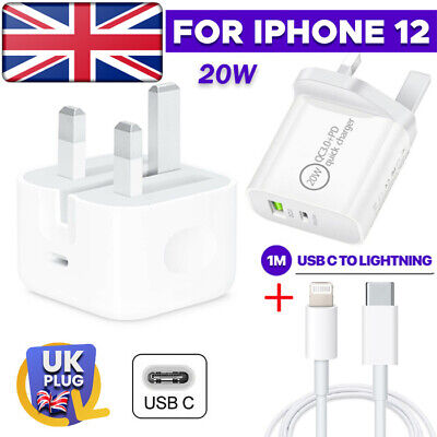 AU10.31 • Buy Plug PD 20W USB-C Type C Folding Fast Wall Charger Adapter For IPhone 12 Pro Max