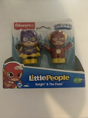 £11 • Buy Fisher Price Little People Batgirl And The Flash