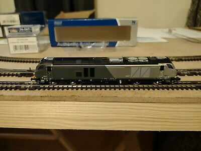 £120 • Buy Dapol 2D-022-004, N Gauge, Class 68 014 In Chiltern Livery. **DCC FITTED**