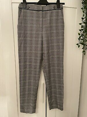 £0.99 • Buy F&F Dogtooth Check Print Work Smart Trousers Size 8