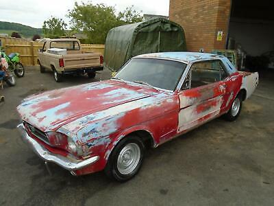 £6995 • Buy Ford Mustang 3.3 Auto Coupe (1965)met Gold Perfect Solid Project Base! Exc Value