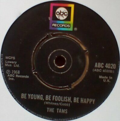 £4.99 • Buy Tams -Be Young,Be Foolish,Be Happy-Club Classic.