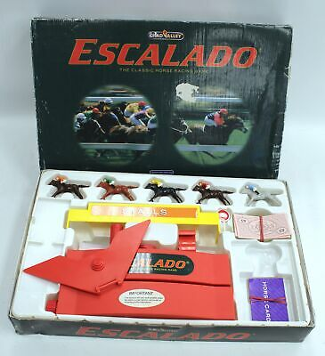 £4.99 • Buy Vintage CHAD VALLEY ESCALADO Classic Horse Racing Game Ages 8+ Players 2-6 - BB4