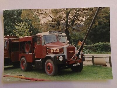 £1.20 • Buy Real Photo-Vintage Scammell Superior Lorry NHT 464F-John Carter & Sons