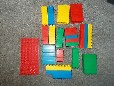 £2.99 • Buy Collection Of Lego Duplo Pieces, Plus Small Base Board