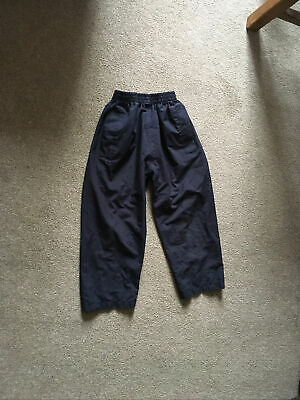£1.30 • Buy Peter Storm Navy Blue Water Proof Boys Trousers Age 5-6yrs