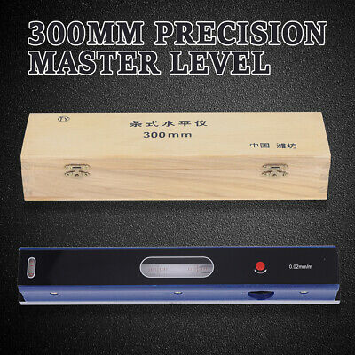 $74.26 • Buy 12inch Master Precision Level In Fitted Box Fit Machinist Tool 0.0002''/10'' Hot