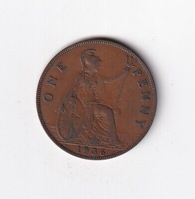 £0.99 • Buy Great Britain One Penny 1936