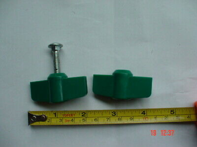 £3.95 • Buy 2 X Universal Wing Nut And Bolt Suitable For Most Lawnmowers.(1 Bolt Missing)