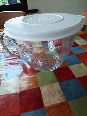 £27.99 • Buy Pampered Chef Large Lidded Glass Jug 8 Cup Capacity