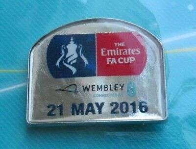 £5.99 • Buy Crystal Palace Manchester United Fa Cup Final 2016 Official Badge