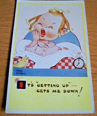 $3.45 • Buy It's Getting Up Gets Me Down   Mabel Lucie Attwell Postcard