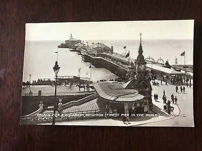 £0.99 • Buy Palace Pier And Aquarium Brighton (finest Pier In The World)
