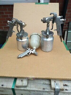 £41 • Buy Devilbiss Spray Guns X2 & A GA From Italy. Classic Cars Tractors Vehicles