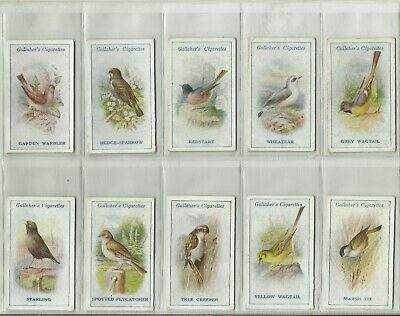 £10.62 • Buy Gallaher's Cigarette Cards - BRITISH BIRDS By GEORGE RANKIN - 32/100