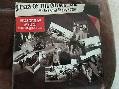 £4.50 • Buy QUEENS OF THE STONE AGE Lost Art Of Keeping A Secret CD Limited Edition