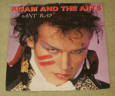 £0.99 • Buy Adam And The Ants - Ant Rap 7  Vinyl Amber Injection Labels - Picture Sleeve