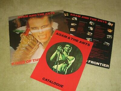 £6.99 • Buy Adam And The Ants - Kings Of The Wild Frontier Vinyl Lp+inner Sleeve+catalogue
