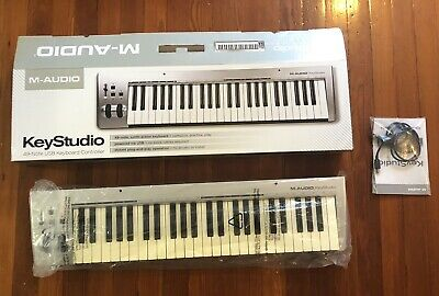 $49 • Buy M-Audio Keystation 49-note, Synth-action Keyboard Controller
