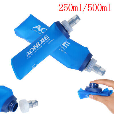 AU14.19 • Buy AONIJIE TPU Folding Soft Flask Sports Water Bottle For Running Camping  Hiking