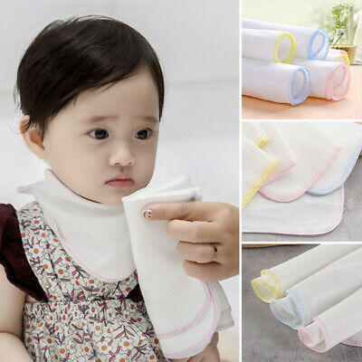 £5.99 • Buy 10X Cotton Face Facial Cleansing Muslin Cloth/Towel Cleaning Makeup Dirt Removal