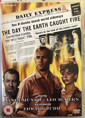£5.99 • Buy The Day The Earth Caught Fire 1961 Rare Deleted Classic Sci-Fi Disaster DVD