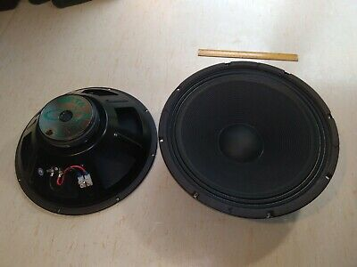 £80 • Buy Eminence (Beta 15) 15 Inch Bass Drivers 2 Off Pre- Owned, Perfect Working Order