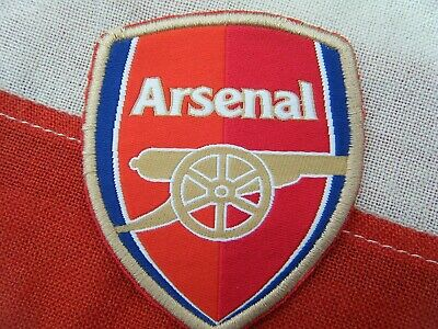 £3.99 • Buy Arsenal Fc Sew On Badge / Patch - Old Shirt Badge ? -  Free Postage To Uk Buyer